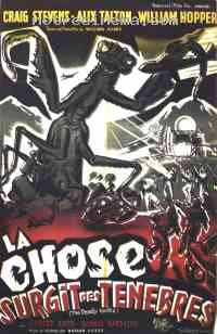 Poster La Chose surgit des t�n�bres 133767