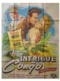 Poster Intrigue au congo 133772