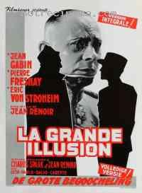affiche  La Grande illusion 135046