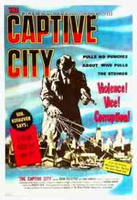 Poster The Captive city 136186