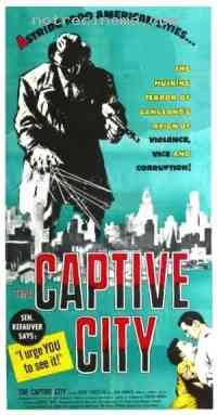 affiche  The Captive city 136187