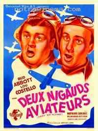 affiche  Deux nigauds aviateurs 136790