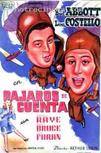 Poster Deux nigauds aviateurs 136819