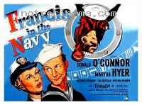 affiche  Francis dans la marine 138611