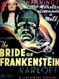 affiche  La Fiancée de Frankenstein 141362