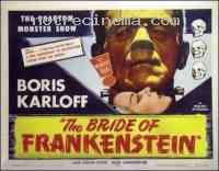 affiche  La Fiancée de Frankenstein 141363