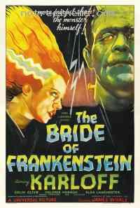 affiche  La Fiancée de Frankenstein 141364