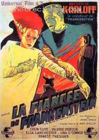 affiche  La Fianc�e de Frankenstein 141365