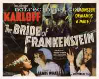 affiche  La Fiancée de Frankenstein 141367
