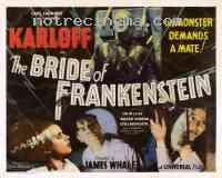 affiche  La Fianc�e de Frankenstein 141367