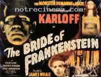 affiche  La Fiancée de Frankenstein 141369