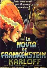 Poster La Fiancée de Frankenstein 141370