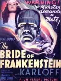 affiche  La Fianc�e de Frankenstein 141371