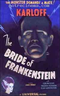 affiche  La Fiancée de Frankenstein 141373