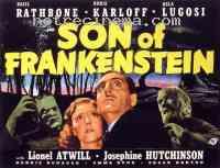 affiche  Le Fils de Frankenstein 141486