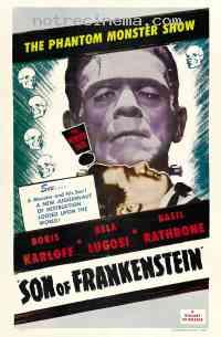 affiche  Le Fils de Frankenstein 141492