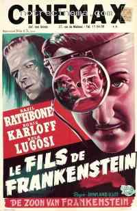 Poster Le Fils de Frankenstein 141493