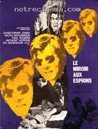 Jaquette covers le miroir aux espions looking glass war for Le miroir aux espions