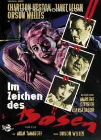 Poster La Soif du mal 14764