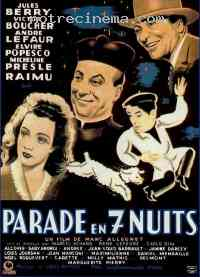 Poster Parade en 7 nuits 148396