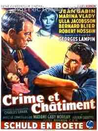 affiche  Crime et châtiment 148888