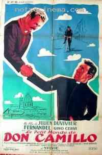 affiche  Le Petit monde de Don Camillo 15078