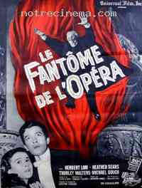 affiche  Le Fant�me de l'Op�ra 15079