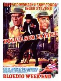 affiche  Police sur la ville 157642