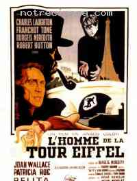 affiche  L'Homme de la tour Eiffel 158524