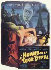 Poster L'Homme de la tour Eiffel 158609