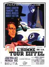 affiche  L'Homme de la tour Eiffel 158610