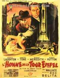 affiche  L'Homme de la tour Eiffel 158611