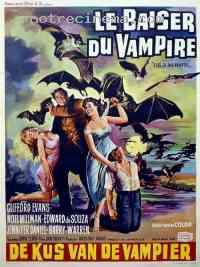 Poster Le Baiser du vampire 16061