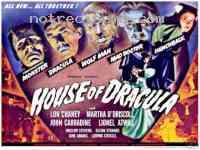affiche  La Maison de Dracula 161149