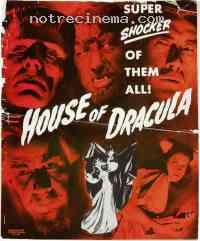 affiche  La Maison de Dracula 161150