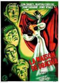 Poster La Maison de Dracula 161151