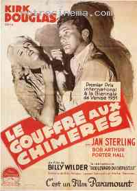 affiche  Le Gouffre aux chim�res 163068