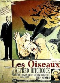 affiche  Les Oiseaux 163729