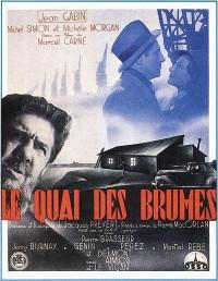 Poster Le Quai des brumes 167086