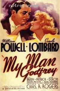Poster Mon homme Godfrey 167933