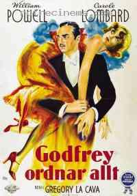 Poster Mon homme Godfrey 167934