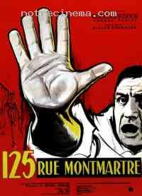 Poster 125, rue Montmartre 17299
