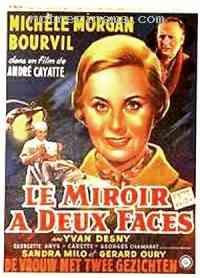 affiche  Le Miroir à deux faces 173014