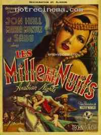 affiche  Les Mille et une nuits 173523