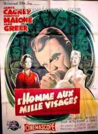 Poster L'Homme aux mille visages 174480