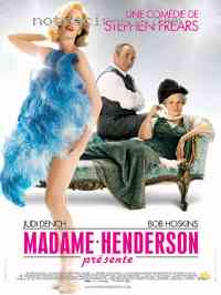 Poster Madame Henderson pr�sente 178654