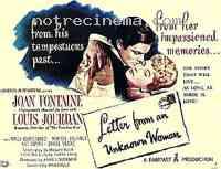 affiche  Lettre d'une inconnue 181508