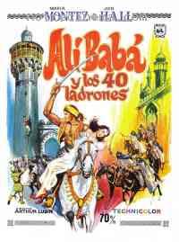 affiche  Ali Baba et les 40 Voleurs 18168