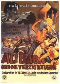 Poster Ali Baba et les 40 Voleurs 18169