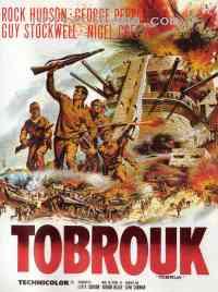 Poster Tobrouk, commando pour l'enfer 184529